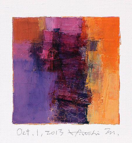 hiroshimatsumoto  - Original Abstract Oil Painting of Hiroshi Matsumoto  - on Etsy