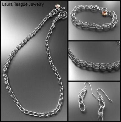 #handmade #silver #jewelry www.laurateague.com