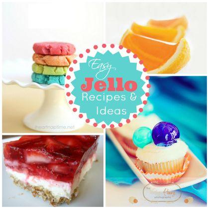 Easy Jello Recipes and Ideas