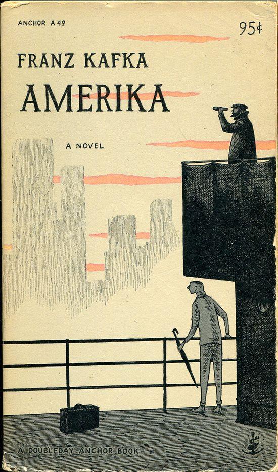 Franz Kafka - Amerika - Cover by Edward Gorey (view more : www.flickr.com/...)