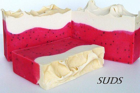 Strawberries & Cream, SUDS Handmade Soap Co