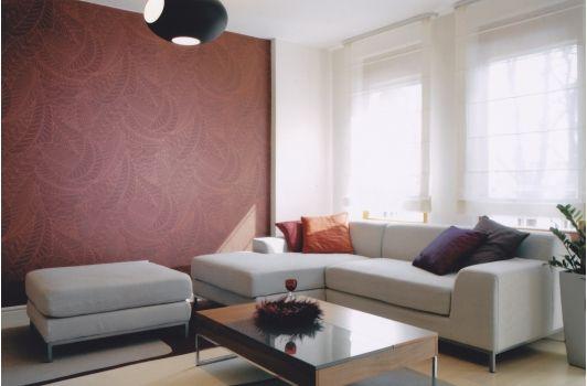 Calm living room design
