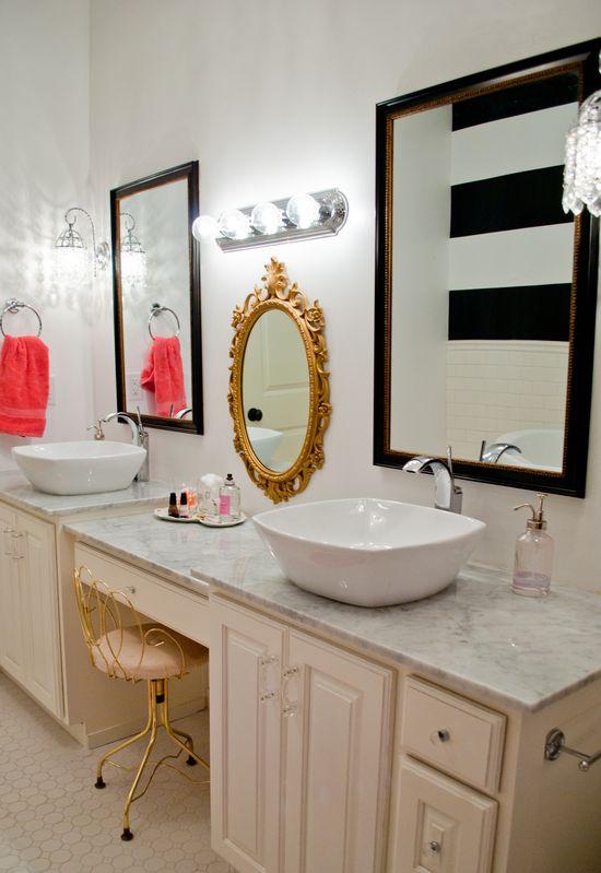 Bathroom design by aubreyvevadesign....
