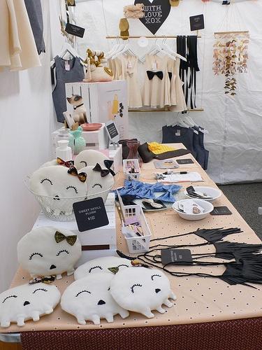 Booth display @ Renegade Craft Fair