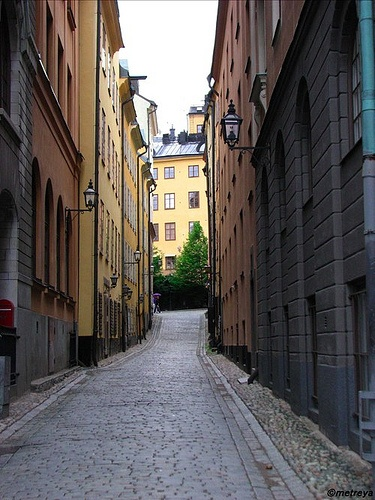 Gamla Stan, Stockholm by Fille de l'Air, via Flickr