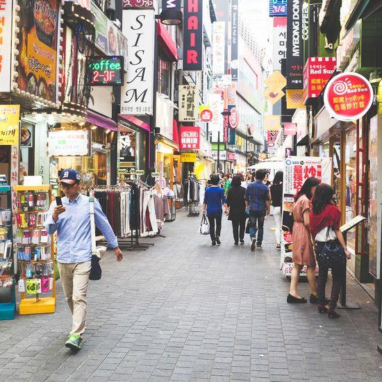 Myeongdong in #Seoul