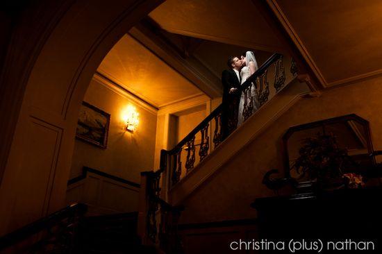 Palliser hotel wedding photo