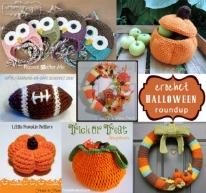 My Merry Messy Life: Fall and Halloween Crochet Pattern Roundup