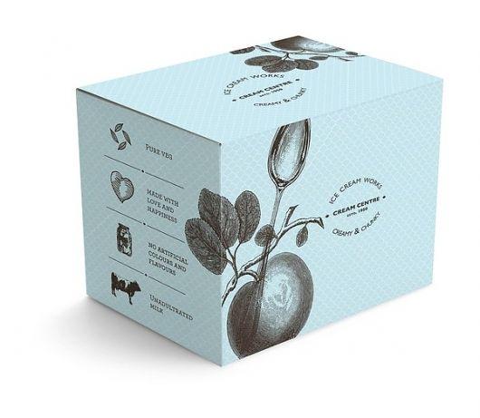 Designspiration — Cream Centre- Ice Cream Works on the Behance Network