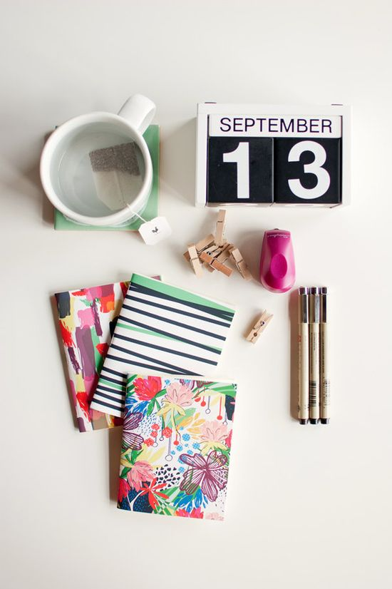 Pocket sized and colorful, these blank notebooks are ready to go wherever you do. $12.50