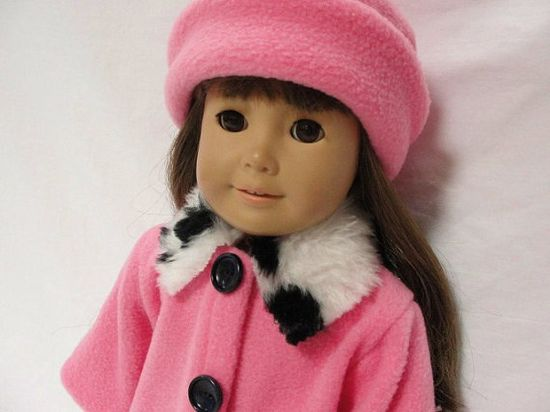 American Girl Doll Clothes  Bubble Gum Pink by DollClothesByJane, $18.00