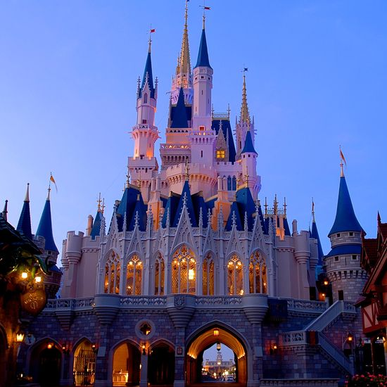 Breathtaking views, day or night - Cinderella Castle at Magic Kingdom #Disney