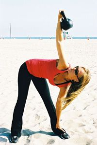 Get the ultimate beach-body with kettlebells