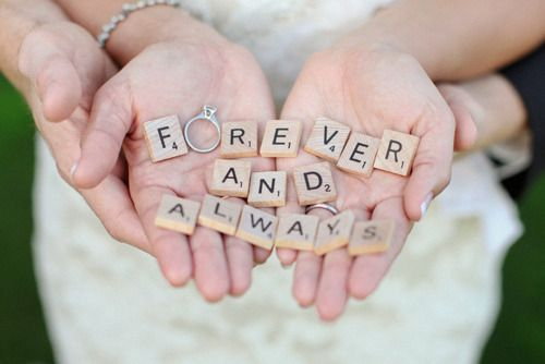 Forever and always! #SomethingSparkling--follow me (Hannah Hunter Seagraves) for more interesting pins, I follow back #follow #followme #followback #wedding #weddingday #bigday #justmarried #happilyeverafter