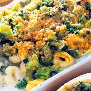 Tortellini and Broccoli Casserole