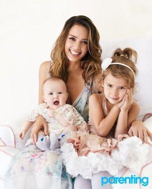 Jessica talks parenting & The Honest Company in Parenting Magazine