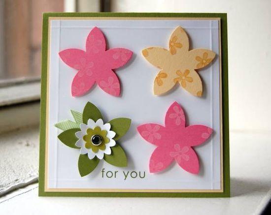 Boho Blossoms, 5 petal punch Stampin UP