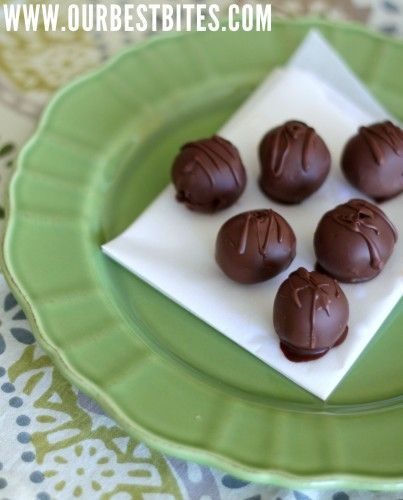 Chocolate Chip Cookie Dough Truffles from Our Best Bites
