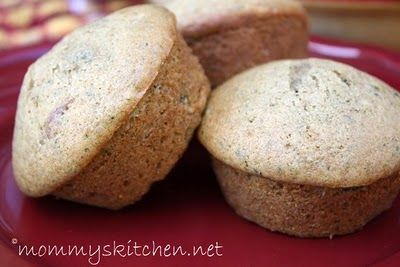 Zucchini Bread Muffins & How to puree & store veggies for sneaky muffin recipes.