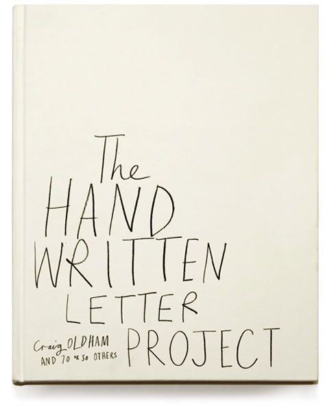 hand writting book cover.