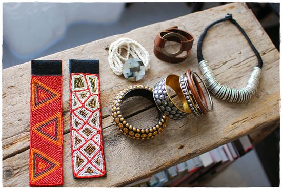 Beautiful jewelry from Mexico on Desire to Inspire.