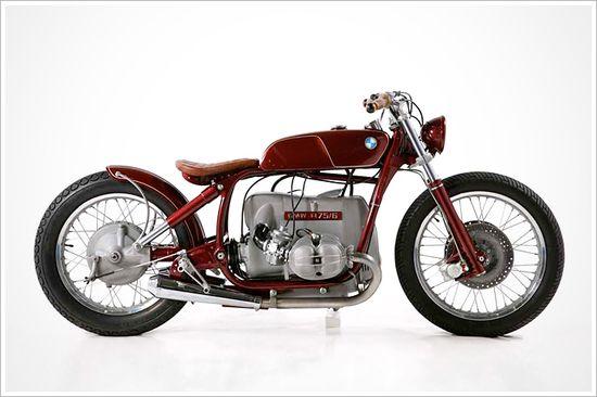 '75 BMW R75/6 - KingstonCustoms - Pipeburn - Purveyors of Classic Motorcycles, Cafe Racers & Custom motorbikes