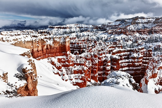 Winter  Awe by James Marvin Phelps, via Flickr