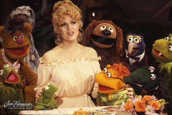 Bernadette Peters & Muppets