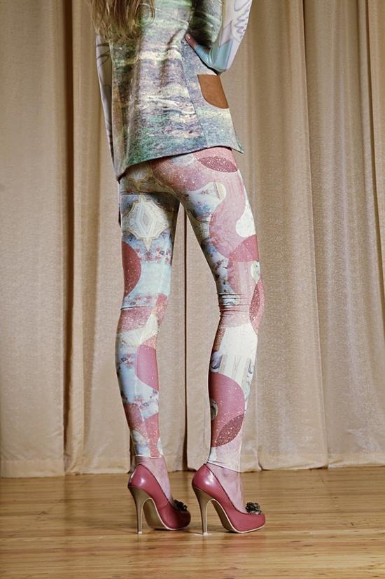 Baroq Leggings by qooqoofashion on etsy $60