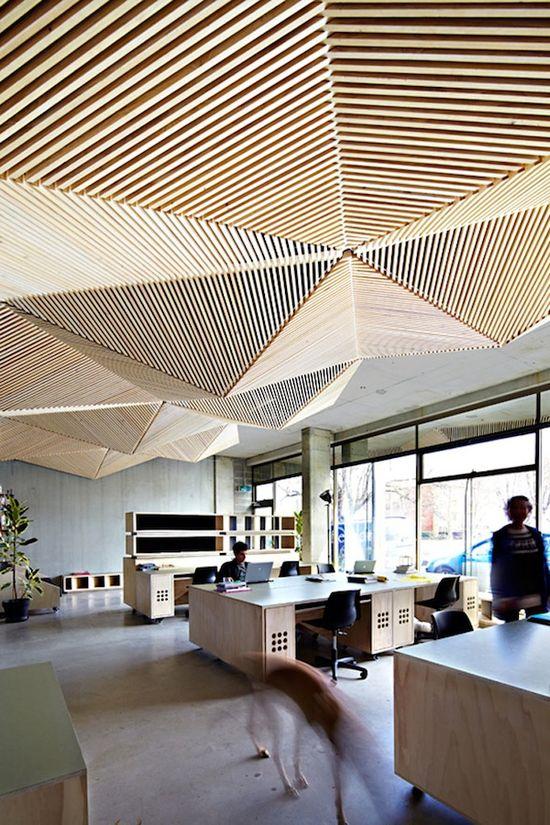 Interesting office design!