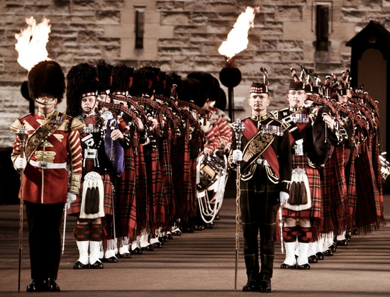 Edinburgh Military Tattoo, Edinburgh Castle Esplanade 2008