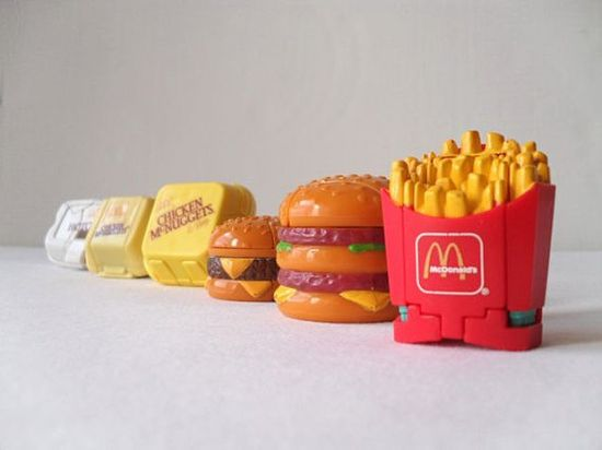 transformer happy meal toys ~~