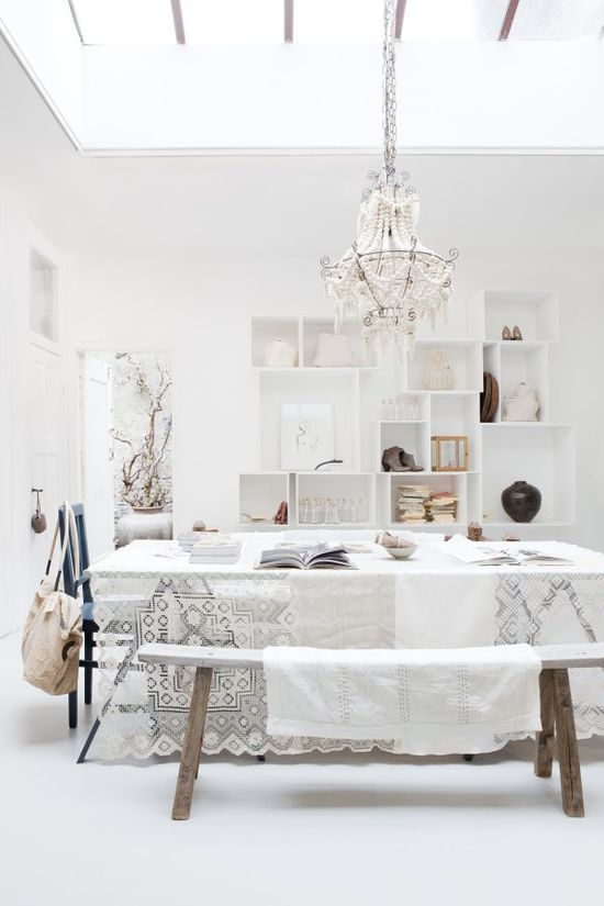 all white #decor #colors