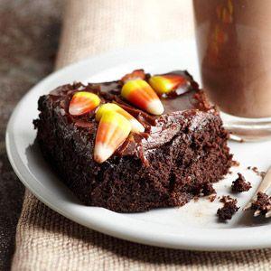 Easy Halloween Brownies