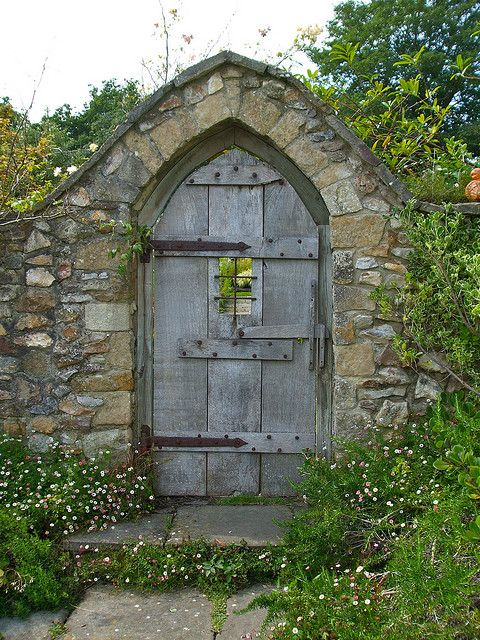 "From the moment I saw The Secret Garden, I have loved the thought of a gated ""secret garden"" entrance ;)"