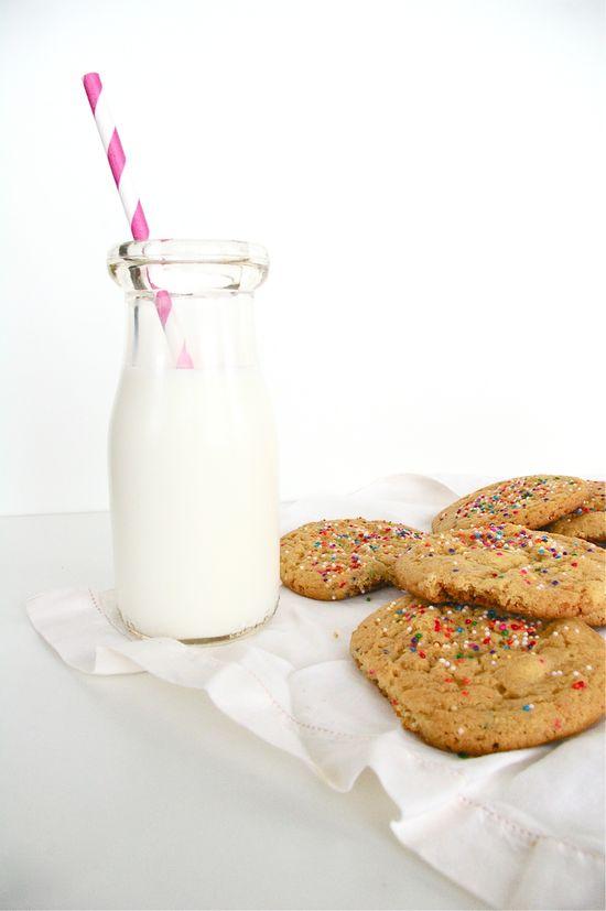 cake batter white chocolate chip cookie recipe