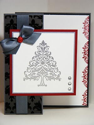 christmas card  stampin up