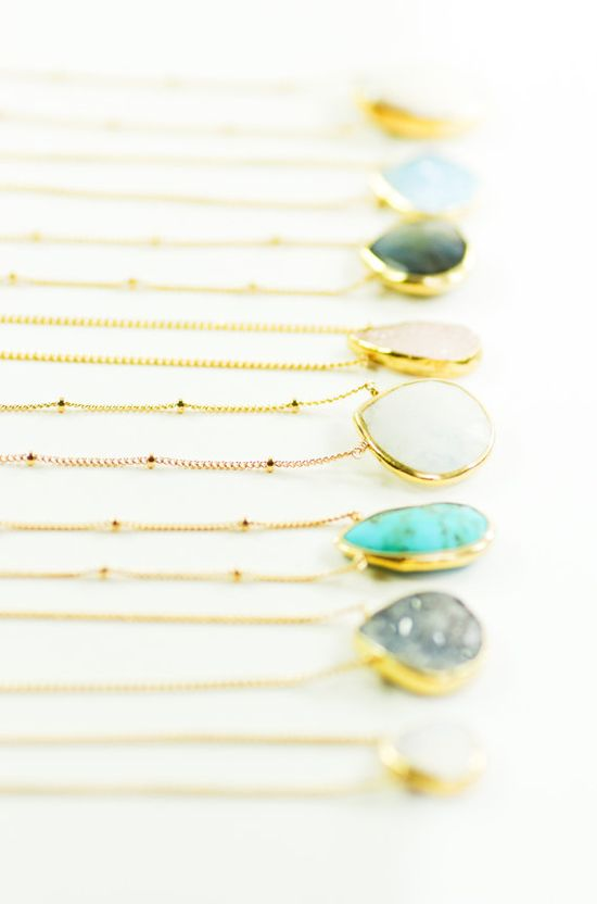 Alohanani necklace - rainbow moonstone gold necklace, www.kealohajewelr... maui, hawaii