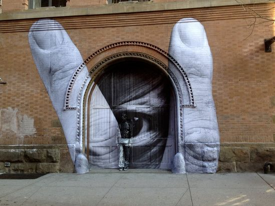 STREET ART UTOPIA » We declare the world as our canvasStreet Art with JR and Liu Bolin » STREET ART UTOPIA