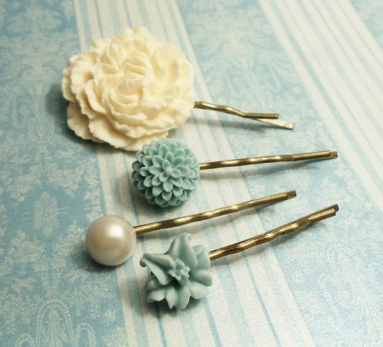 Cool hair pins