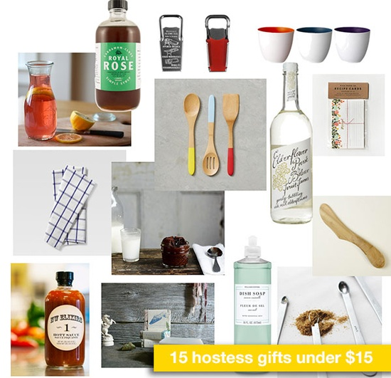 15 hostess gifts under 15 dollars