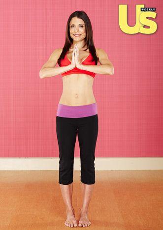 Bethenny Frankel's 15-min Yoga Workout