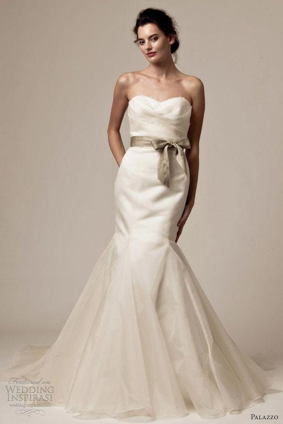 palazzo bridal by jane white 2013 tina strapless wedding dress