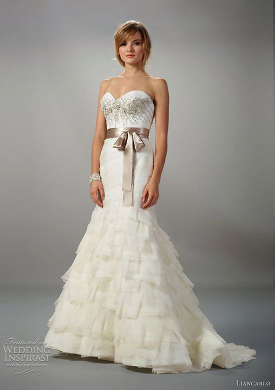 liancarlo 5809 wedding dress fall 2012