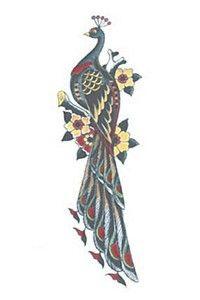 peacock tattoo design