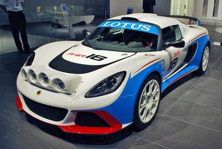 Lotus Exige R-GT rally car: preparing for phenomenal performance