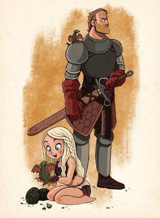Game of Thrones  Daenerys & Jorah
