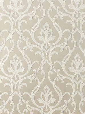 York Designer Series Dazzled-DE8858 $118.99 per roll #interiors #decor #whitewallpaper