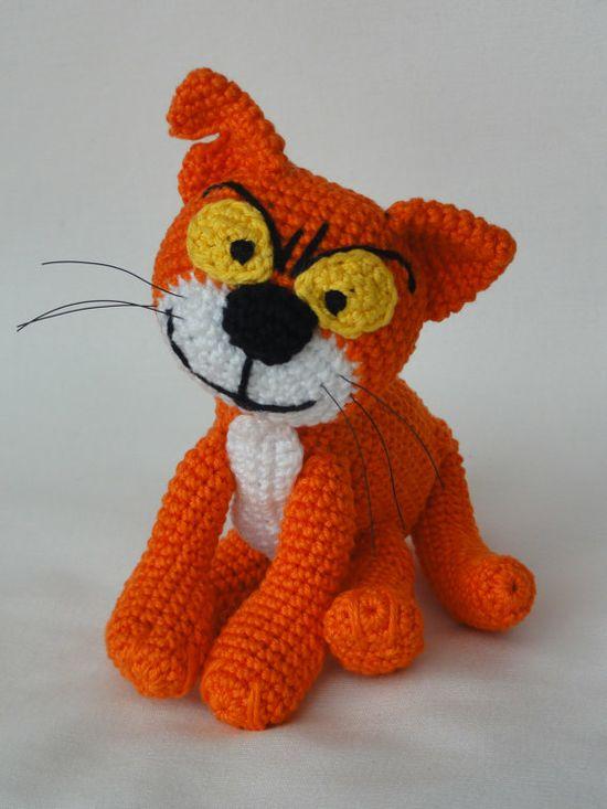 Azrael the Cat Amigurumi Crochet Pattern
