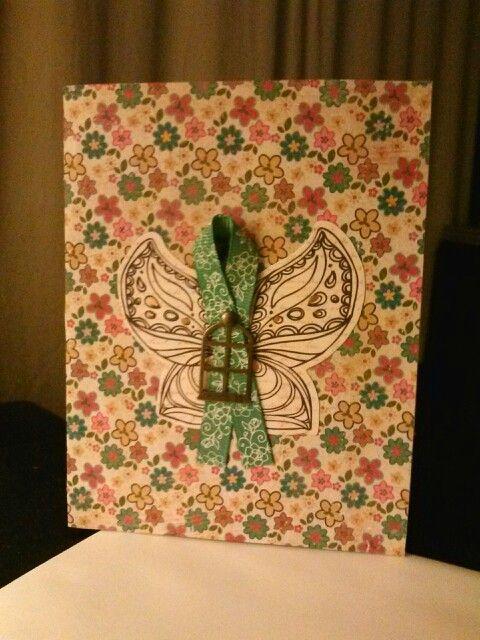 Crazy Pattern Handmade Cards